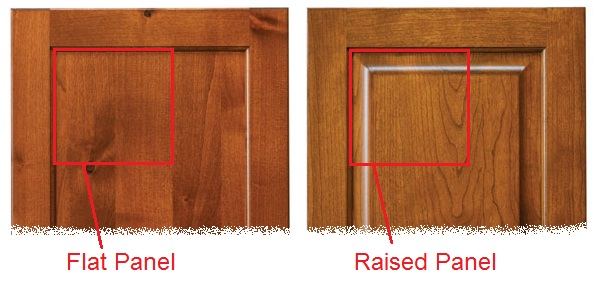 Flat Panel Doors vs Raised Panel Cabinet Doors