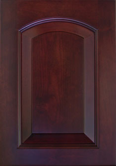 Horizon Cabinet Door Co: ALDER HOMETOWN ARCH RAISED PANEL Door