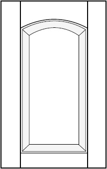 Horizon Cabinet Door Co: Roman Arch Raised Panel