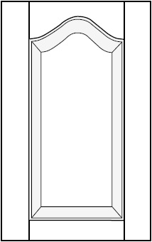 Horizon Cabinet Door Co: Cathedral Arch Raised Panel