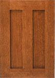 Unfinished Cabinet Doors - Split Flat Panel